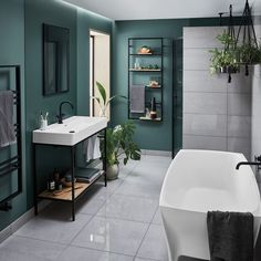 Forget chrome fixtures and fittings, 2018 bathrooms are all about matt black! Modern Master Bathroom, Bathroom Spa, Bathroom Showers, Bathroom Cabinets, Bathroom Ideas, Rustic Bathrooms, Chic Bathrooms, Black Bathrooms, Small Bathrooms