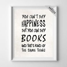 You Can Buy Books Print