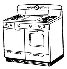 Stove on modern kitchen ideas