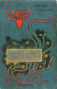 unusual art nouveau influence cover design - undated c1905