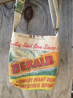 Candy Ogg: feed sack to bag #sewing #tutorial