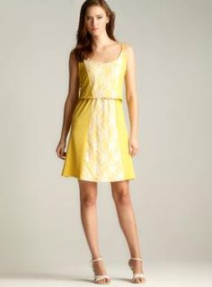 @Overstock - Product is featured in partnership with Loehmann'shttp://www.overstock.com/Clothing-Shoes/She-Lace-Inset-Blouson-Dress/7897415/product.html?CID=214117 $24.99