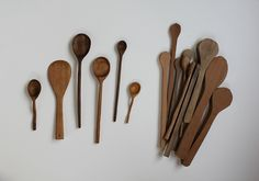 chantelle delichte - how to carve wooden spoons