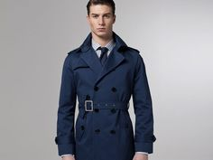 Just in time for spring:  a bad-assed trench coat.  Cool color.