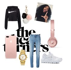 °Nike° by paibear on Polyvore featuring polyvore fashion style NIKE Givenchy Beats by Dr. Dre GUESS Versace clothing