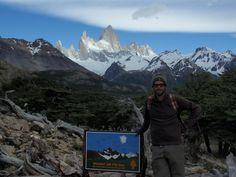 Trekking por El Chaltén:  Vistas desde el mirador del Fitz Roy