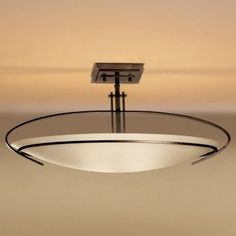 Mackintosh Semi-Flushmount-Oval