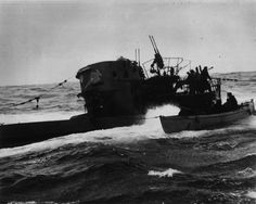 U-744 was forced to surface on 6 March 1944 after a 31 hour pursuit by ships of C-2 Support Group.  The crew abandoned ship.  Scuttling charges, set by the Chief Engineer, detonated but did not sink the boat.  HMCS Chilliwack and St. Catherines put over boarding parties, HMCS Chilliwack's reaching U-744 first.  Code books, signal publications and equipment were removed from the boat.  Supposedly, the bulk of these materials were lost during the transfer between the U-Boat and the destroyers…