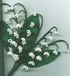Beaded flowers | ... is from french beaded flowers i a guide for beginners by helen mccall