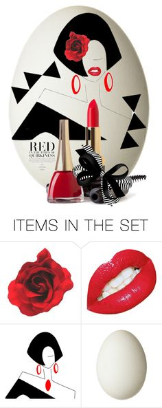 """""""Decorate New Eggs for 2018 🐥"""" by kari-c ❤ liked on Polyvore featuring art"""