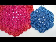 Häkeln mit eliZZZa * Blume des Lebens * Flower of Life * Hexagon