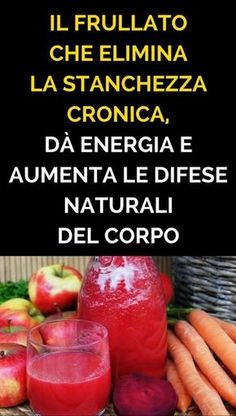 Il Frullato Che Elimina la Stanchezza Cronica, Dà Energia e Aumenta Le Difese Naturali Del Corpo Fruit Drinks, Detox Drinks, Smoothie Recipes, Smoothies, Low Glycemic Diet, Frappe, Diet Tips, Healthy Tips, Food Hacks