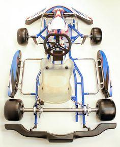 Comet Eagle 30/32mm Economic Racing Kart :: Eagle Karts :: Complete Racing Kart Chassis ::...