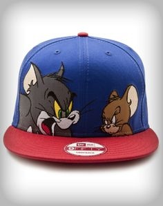 New Era Tom & Jerry Snap Back Flatbill Hat from Spencers Gifts
