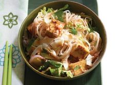 Singapore Noodles with Golden Tofu and Coconut   Vegetarian Times