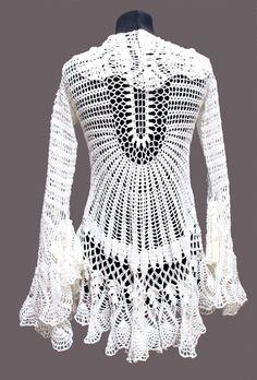 Wonderful crochet cardi! Just Stunning!!