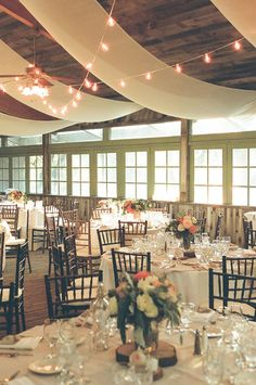 sophisticated reception, photo by Christianne Taylor, styling by Vanessa Noel Events http://ruffledblog.com/sophisticated-calamigos-ranch-wedding #weddingreception
