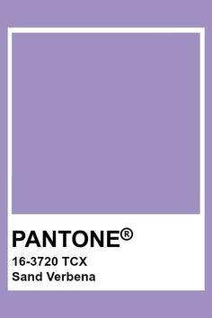 PANTONE 16-3720 TCX Sand Verbena #pantone #color #lavender Paleta Pantone, Pantone Tcx, Pantone Color Chart, Pantone Colour Palettes, Lavender Paint, Lavender Color, Lavander, Lavender Aesthetic, Purple Aesthetic