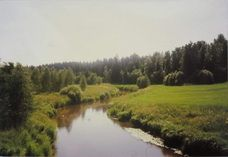 My first landscape-photo at early teens (scanned)