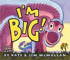 From Kate and Jim McMullan, the popular creators of I Stink! and I'm Dirty!—now a streaming animated series—comes a hilarious new picture book about one BIG dino who's just trying to find his herd again. He's BIG, a whole lotta lizard-thunder comin' at you! But he's also…lost. Have you seen his herd? BOOM, BOOM! Uh, oh! Help this sorry sauropod find his pals before he becomes lunch for some hungry predator. Yikes!