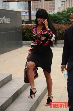 Love and Hip Hop Starlet Joseline Hernandez. Loving her look head to toe!
