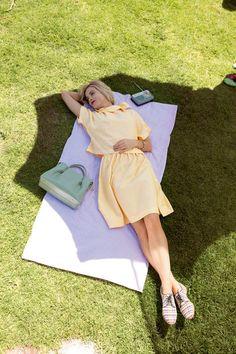 Button Up A-Line Skirt 06/2015