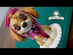 How to make a cake topper of Skye from Paw Patrol! I use modelling paste / gum p… How to make a cake topper of Skye from Paw Patrol! I use modelling paste / gum paste to create my Paw Patrol figure, you could also use fondant with tylose p…