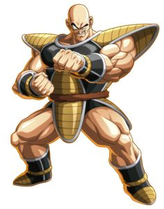 Nappa from Dragon Ball FighterZ