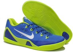 Nike Zoom Kobe 9 Shoes Green Blue White