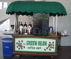 Green Bean Coffee Cart