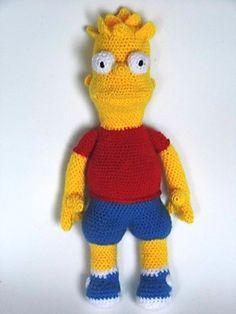 Los Simpsons, Crossstitch, Cross Stitch Patterns, Free Cross, Cross ...