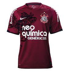 3a16946fba Fornecedor apresenta oficialmente nova camisa 3 do Corinthians