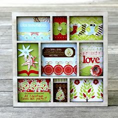 PaperVine: Christmas Decor Frame (Kaisercraft)