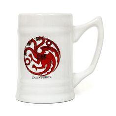 Fire and blood / Targaryen - Jarra ceramica #JuegoDeTronos #gameofthrones