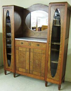 Art Deco Cabinet - into the dinning-, or livingroom or into the bathroom, Bookcase - into the library 1925