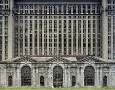 Detroit as is...Michigan Central Station.