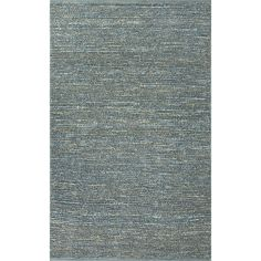 Jaipur Rugs Naturals Solid Pattern Blue Jute Area Rug CL13 (Rectangle)