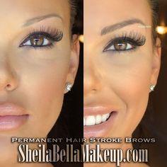Rock beautiful brows for years! Permanent Makeup Eyebrows, Eyebrow Makeup, Hair Makeup, Microblading Eyebrows, Eyebrow Tattoo, Lash Lift, Trends, Beauty Hacks, Beauty Tips