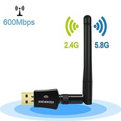 ANEWKODI Dual Band Wireless USB Wifi Antenna Network Lan Card For Windows MAC OS >>> Be sure to check out this awesome product. (This is an affiliate link) Wireless Router, Wifi Router, Wi Fi, Mac Os 10, Best Wifi, Wifi Antenna, Computer Accessories, Windows Xp, Popular