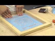 How to Screen Print with a Vinyl Cutter - YouTube                                                                                                                                                                                 More