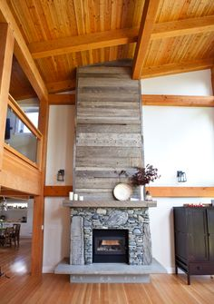 focal point #wood #stone