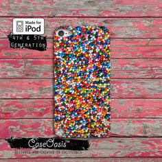 Sprinkles Rainbow Cake Cute Cool Tumblr Case iPod by CaseOasis, $14.99