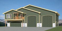 PDF house plans, garage plans, & shed plans. Pole Barn Plans, Barn House Plans, Bedroom House Plans, Tiny House Plans, House Floor Plans, Garage Apartment Floor Plans, Garage Apartments, Garage Plans, Shed Plans