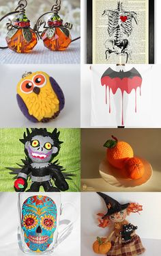 Halloween Party by Oxy on Etsy--Pinned with TreasuryPin.com