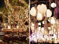 Better Times Wedding: Idée Déco Mariage X Les lumières