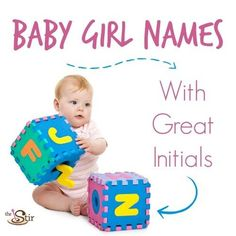 These baby names make interesting initials that can be used as nicknames! http://thestir.cafemom.com/pregnancy/185784/21_initials_that_make_great