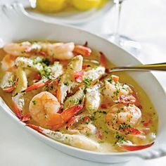 Shrimp-and-Crab Finger Scampi - 60 Best Shrimp Recipes - Coastal Living