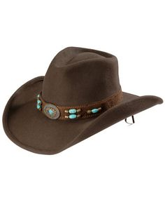 949f234344b Bullhide Jewel of the West Wool Cowgirl Hat