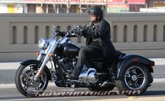 SCOOP: 2015 Harley-Davidson Freewheeler Trike Spied