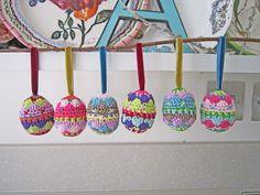 JANIE CROW crochet eggs